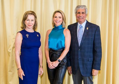 Nancy Brown, Amy Robach, Peter Brown